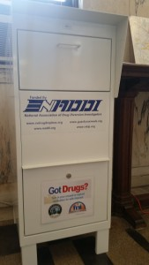 Medicine Drop Off box